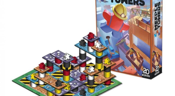 Build the High-Rises of Tomorrow in Meeple Towers—Coming Soon!