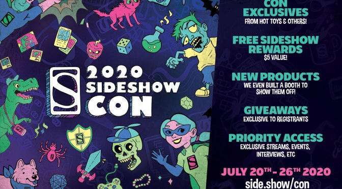 Relive All of the Biggest Announcements and Product Releases of Sideshow Con 2020!