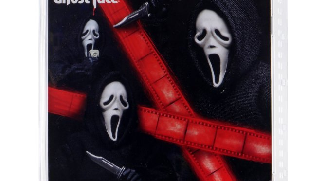 8″ Clothed Ghost Face action figure is making a return
