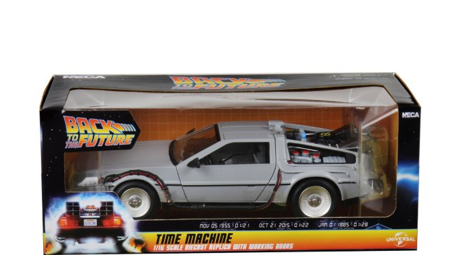 6″ Diecast of the Time Machine from the Back to the Future Trilogy is set to ship out