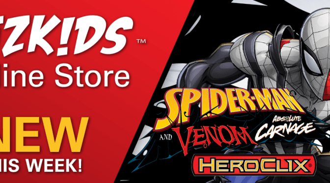 AVAILABLE TODAY: Marvel HeroClix: Spider-Man and Venom: Absolute Carnage!