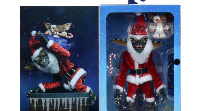 Final packaging photos for the Santa Stripe and Gizmo!