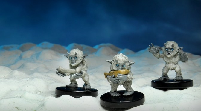Now Available from Wizkids: Icewind Dale – Rime of the Frostmaiden Yeti Tyke Promo Box