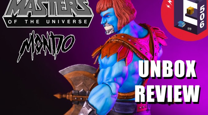 C506 Unbox: 1/6 Faker Mondo MOTU Masters of the Universe EX Exclusive HD – Video