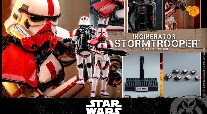 Now Available – Incinerator Stormtrooper 1/6 Hot Toys Sideshow, Buy it here