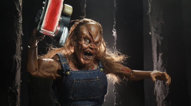 Updated 8″ Clothed Victor Crowley from Hatchet!