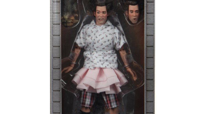 The 8″ Clothed Shady Acres Ace from Ace Ventura: Pet Detective