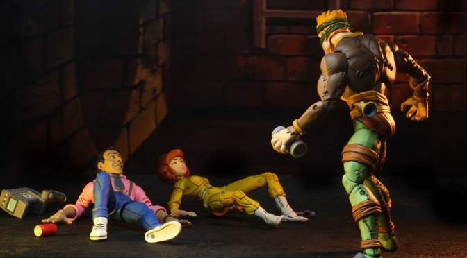 Massive Gallery for TMNT Toon line is the Rat King and Vernon 2-pack!