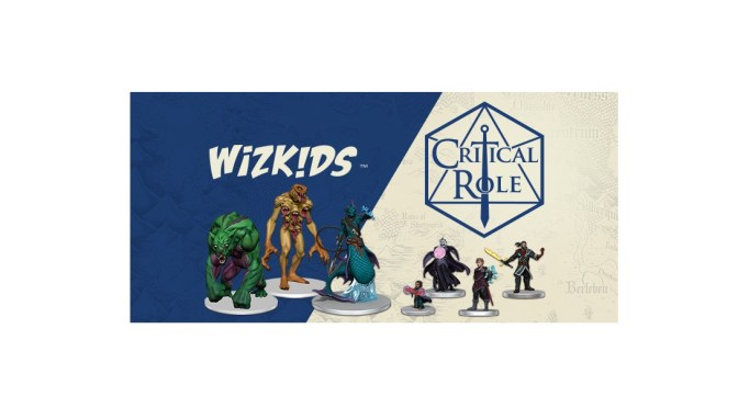 WizKids, Critical Role Partnership Brings Exandria to Life!