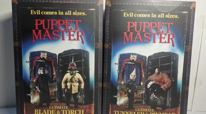 FIRST LOOK at the incredible packaging for Puppet Master 2-packs!