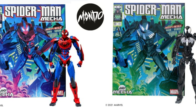 MONDO GETS MASSIVE WITH NEW LINE OF MARVEL MECHA TOY COLLECTIBLES