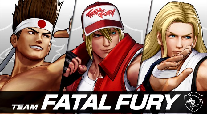 THE KING OF FIGHTERS XV: TERRY BOGARD and TEAM FATAL FURY unveiled