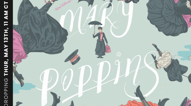 MARY POPPINS and SNOW WHITE posters