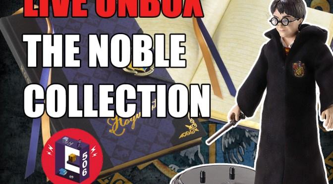 Unbox Review + talk The Noble Collection Harry Potter Bendyfigs / Hogwarts Journal 4k