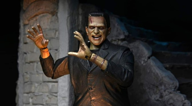 NECA – Frankenstein figure the acclaimed silver – screen classic movie.