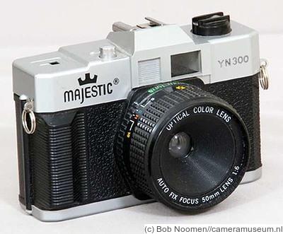 New Taiwan: Majestic YN300 (Optical Color Lens) camera