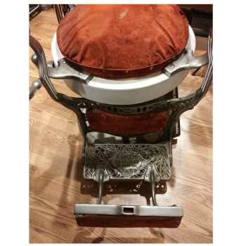 Koken Barber Chair lower half view