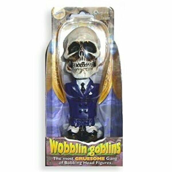 Skull Wobblin Goblin Bobblehead packaging