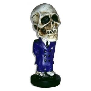 Skull Wobblin Goblin Bobblehead