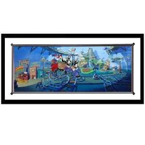 Animaniacs Inside Water Tower Cel