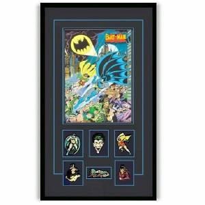 Batman Robin Lithograph With Pins