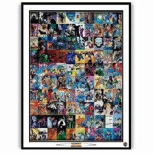 Batman Trading Cards Uncut Sheet