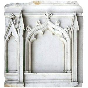 Marble Gothic Cathedral Arches