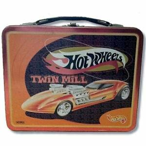 Hot Wheels Twin Mill Lunch Box.