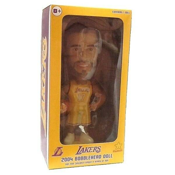 Rick Fox Lakers Bobblehead