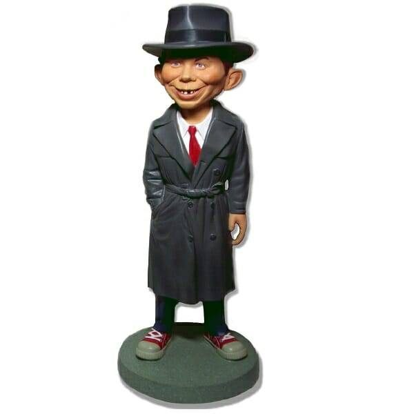Alfred Newman MAD Statue