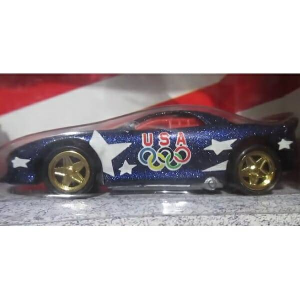American Victory Hot Wheels Set 1993 Camero Coupe pic 2