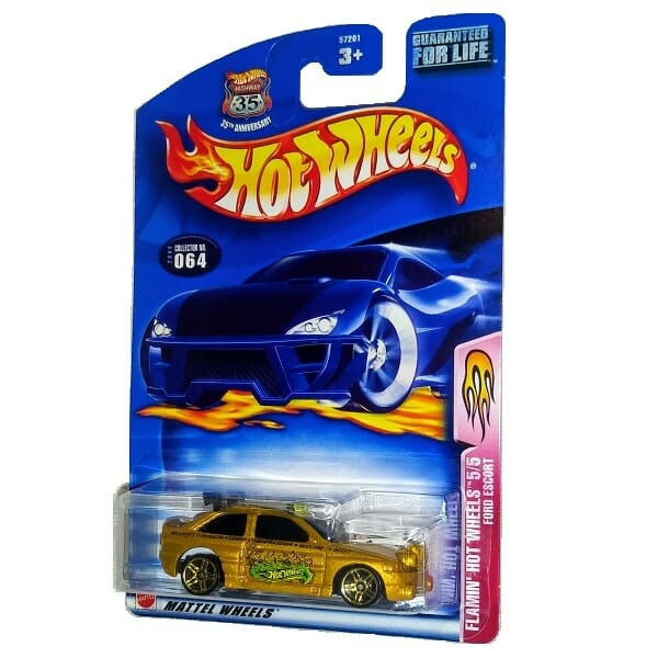 Flamin' Ford Escort Hot Wheels