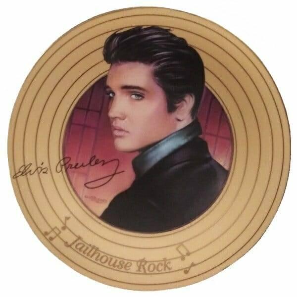 Elvis Presley Jailhouse Rock Plate