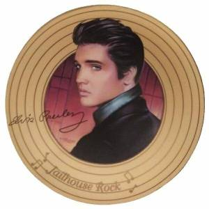 Elvis Jailhouse Rock Plate