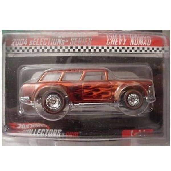 Hot Wheels Redline Nomad close up