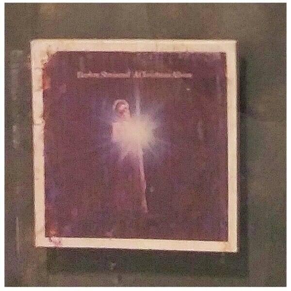Streisand Gold Record Award album cover close up