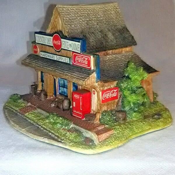 Coca-Cola Lilliput Lane Five & Dime front side view