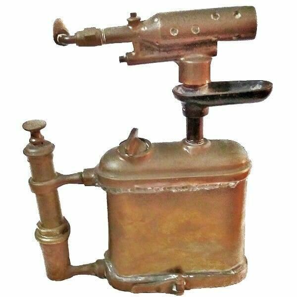 Flat Brass Blow Torch side 2 view