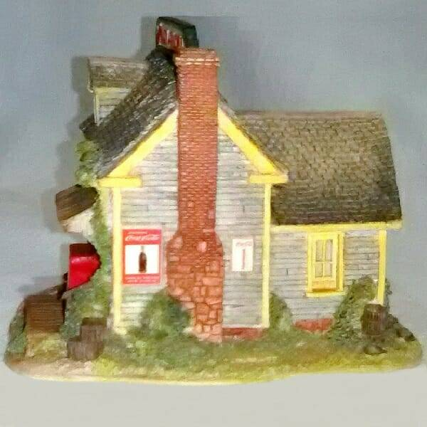 Lilliput Lane Bait and Tackle Shop back view