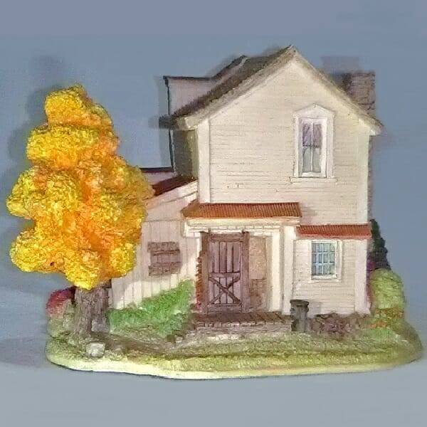 Lilliput Lane Coca-Cola Restaurant back view
