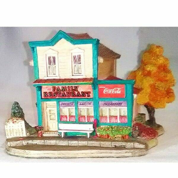 Lilliput Lane Coca-Cola Restaurant front view