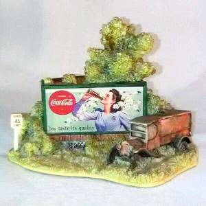 Lilliput Lane Coke Billboard