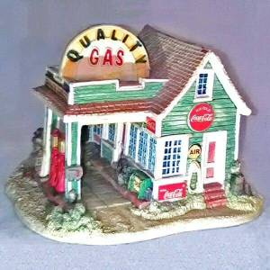 Lilliput Lane Coke Gas Station