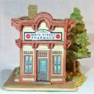 Lilliput Lane Coke Pharmacy