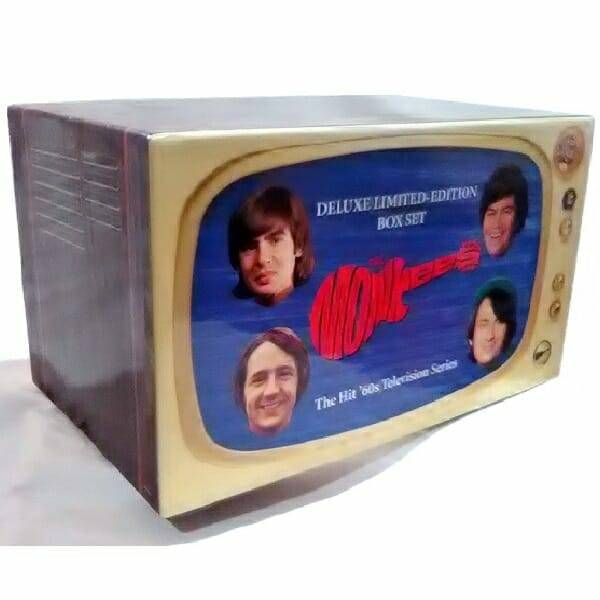 Monkees TV Series Box Set side view