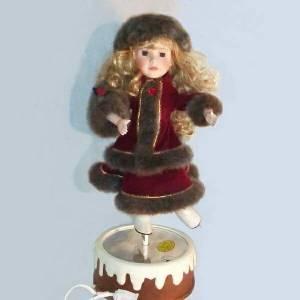 Musical Ice-Skater Doll