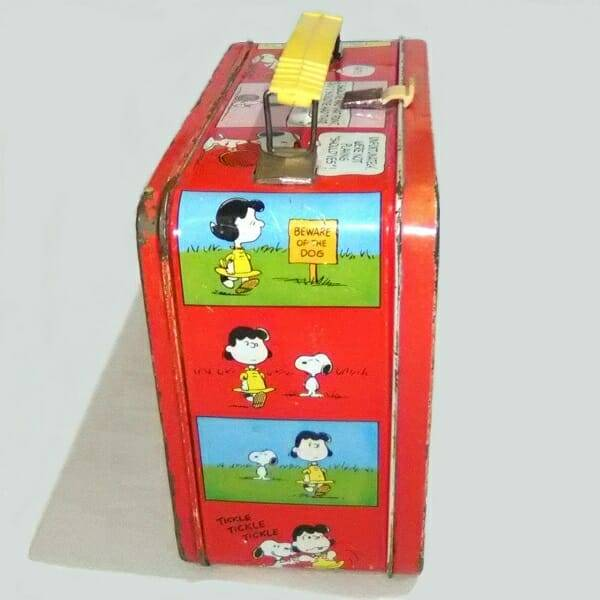 Peanuts Lunch Box side 2 view