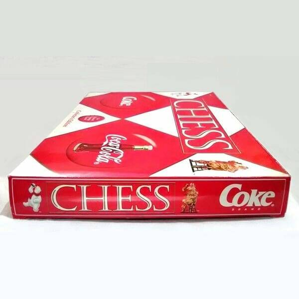 Coca-Cola Collector Edition Chess Set side view