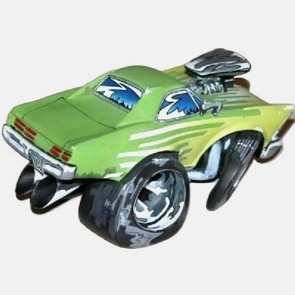 Speed Freaks Pontiac GTO side back view