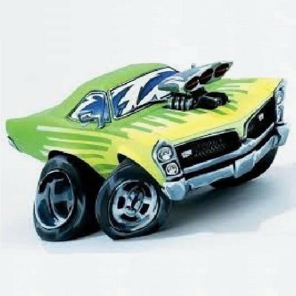 Speed Freaks Pontiac GTO